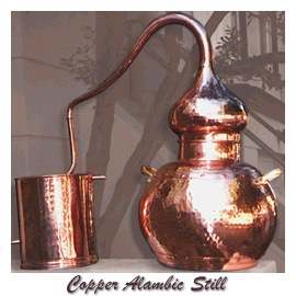Jeanne Rose Copper AlambicStill