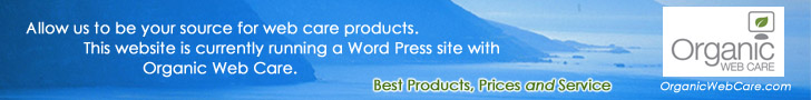Organic Web Care offers the very best in Web Products, Prices, and Service.