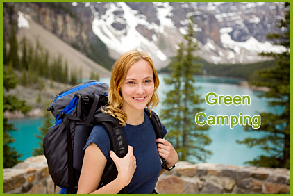 Go camping the green way!
