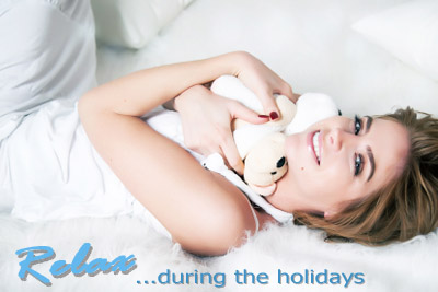 Relax during the Holidays