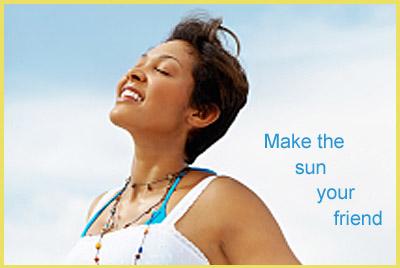Advice for avoiding sun burn naturally