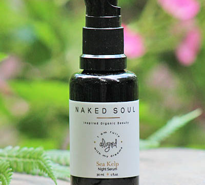 Product Spotlight on Naked Soul Aligned Sea Kelp Night Serum
