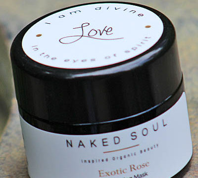 Naked Soul LOVE Exotic Rose Exfoliating Mask