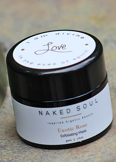 Naked Soul LOVE Exotic Rose Exfoliating Mask