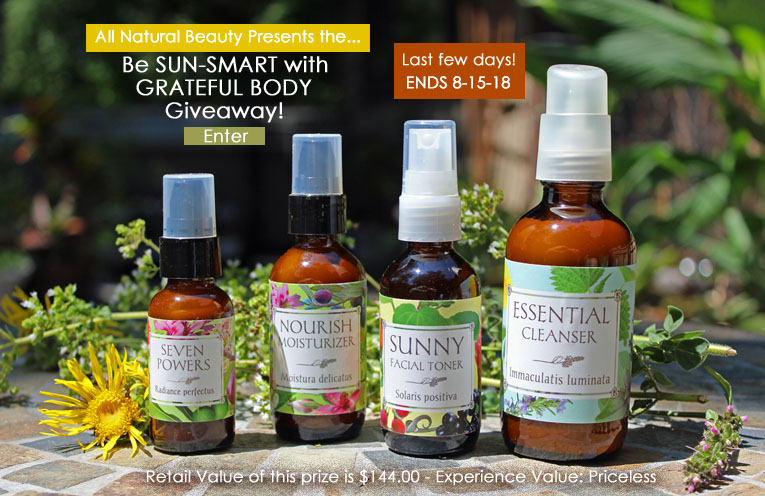 Enter the Grateful Body Giveaway!