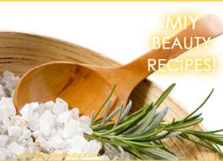 Make It Yourself Beauty Recipes