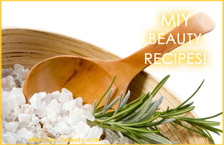 Make It Yourself Beauty Recipes