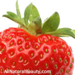 Natural Strawberries & Milk Manicure & Pedicure Scrub Recipe