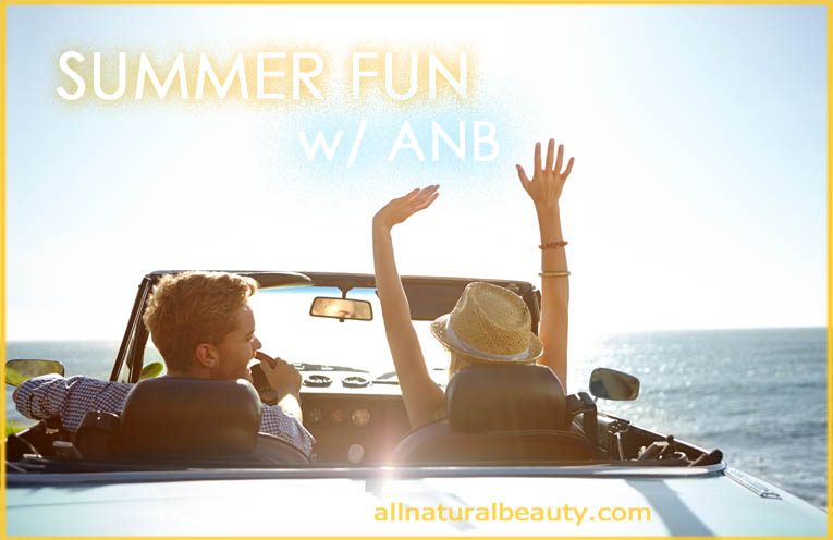 Summer Fun with The All Natural Beauty Website
