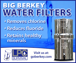 Clean and Purify Your Water with a Berkey Water Filter!
