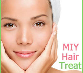 Easy Inexpensive Hair Treatment for Dry Hair