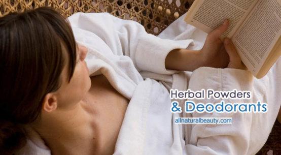 Herbal Powders & Deodorant Recipes