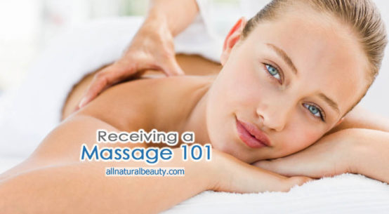 Learn how to get a professional massage