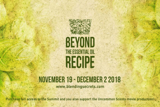 Beyond the Essential Oil Recipe - An Online Event