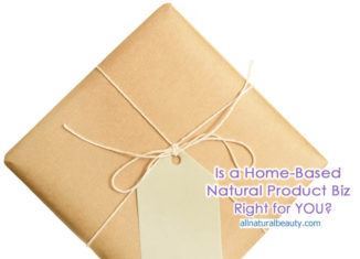 Is a Natural Product Business right for You?