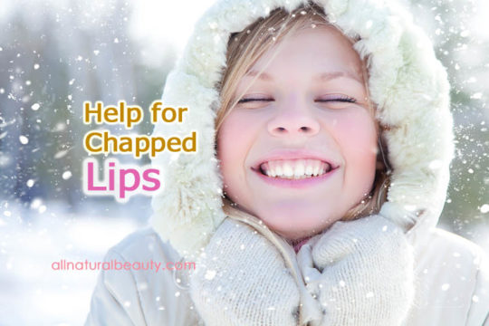 Question about help for chapped lips