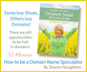 How to be a Domain Speculator E-Book by Sharon Houghton