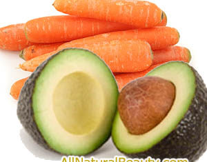 An Easy to Make Avocado Carrot Face Mask