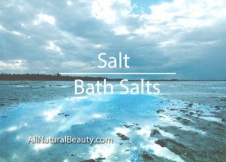 Salt - Bath Salts by Jeanne Rose