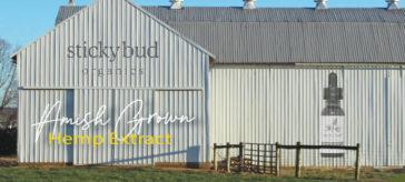 Sticky Bud Organics Hemp Extract - From SharAmbrosia