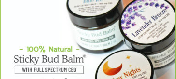 Sticky Bud Balm from Sticky Bud Organics!