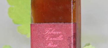 Tobacco Vanilla Rose Botanical Perfume from Organic Perfume Girl
